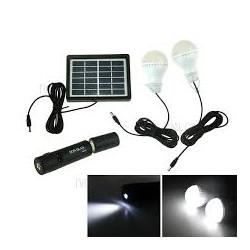 Kit solaire lampes + plaque...